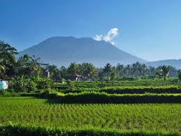 Image of Mount Agung