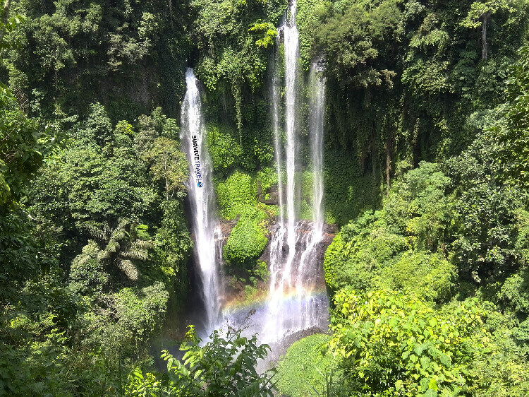 Image of Sekumpul fall in North Bali